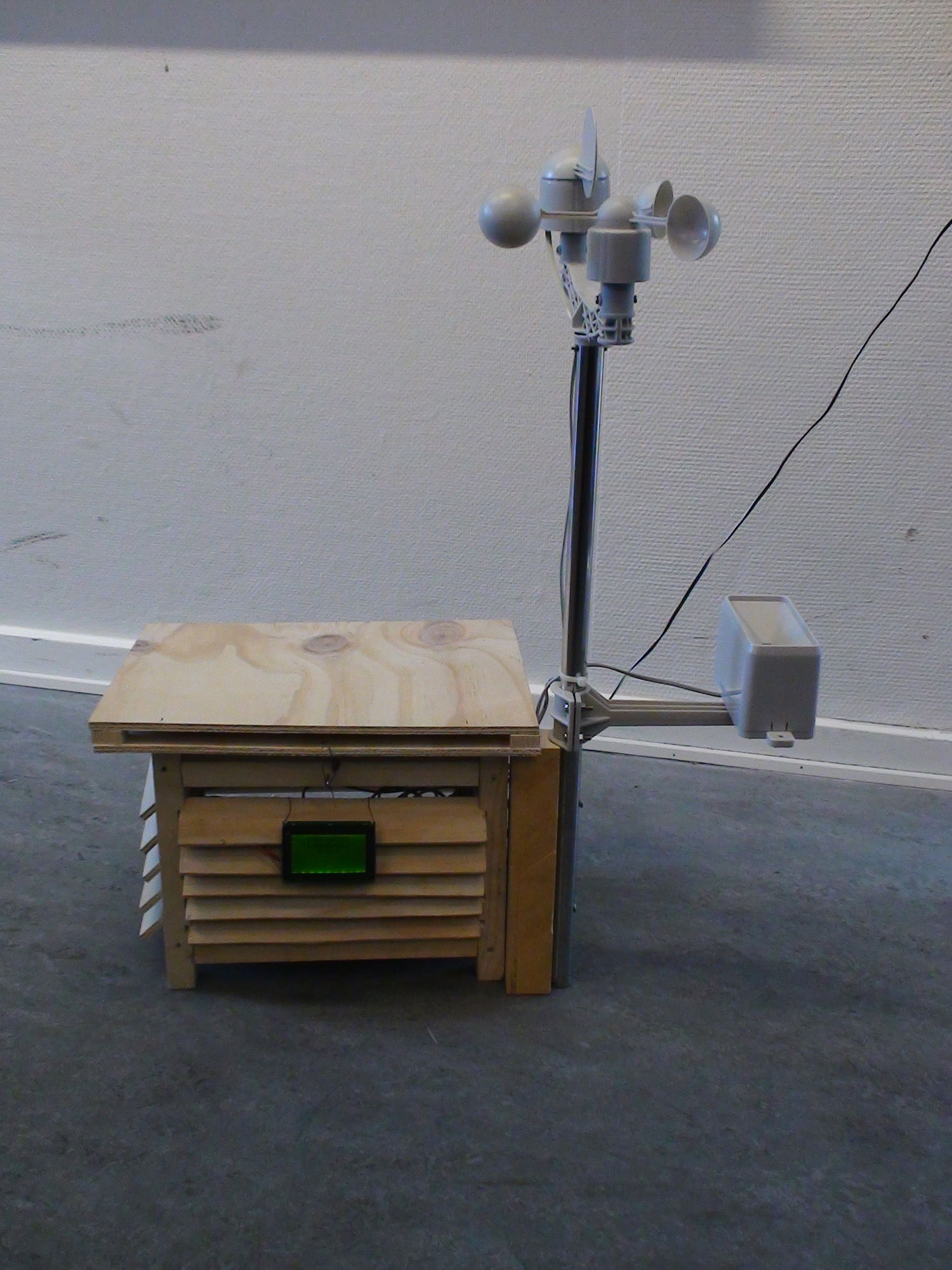 Tkj electronics arduino weather station school project
