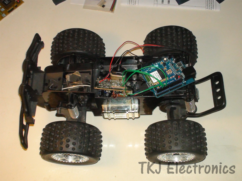 TKJ Electronics WiFi Controlled RC Car with the Arduino