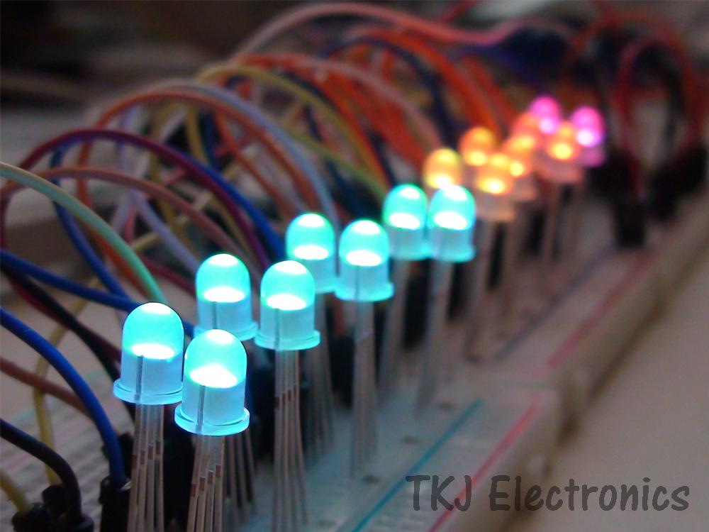 Tkj electronics arduino rgb led controller