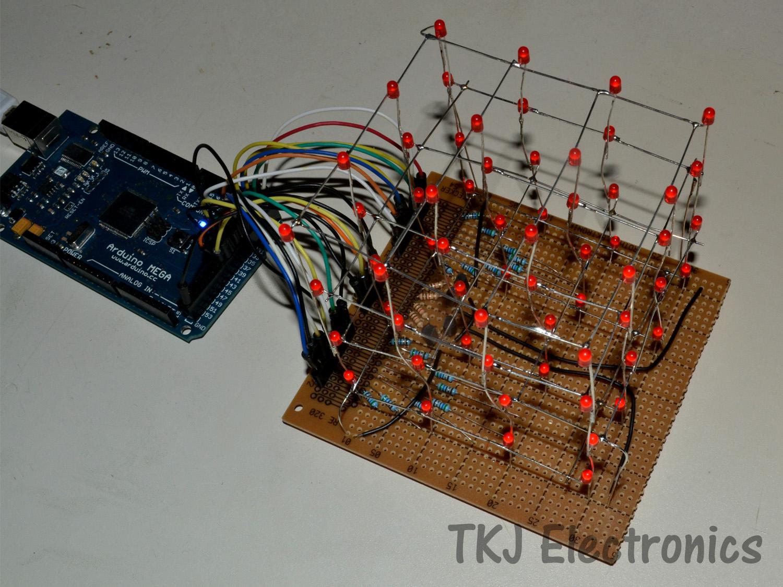 Tkj electronics arduino controlled led cube