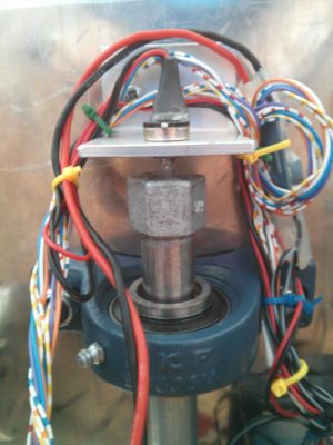 Potentiometer for steering mechanism