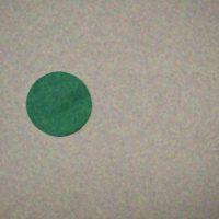 Noisy input image with marker