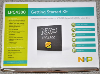 LPC4350 Getting Started Kit