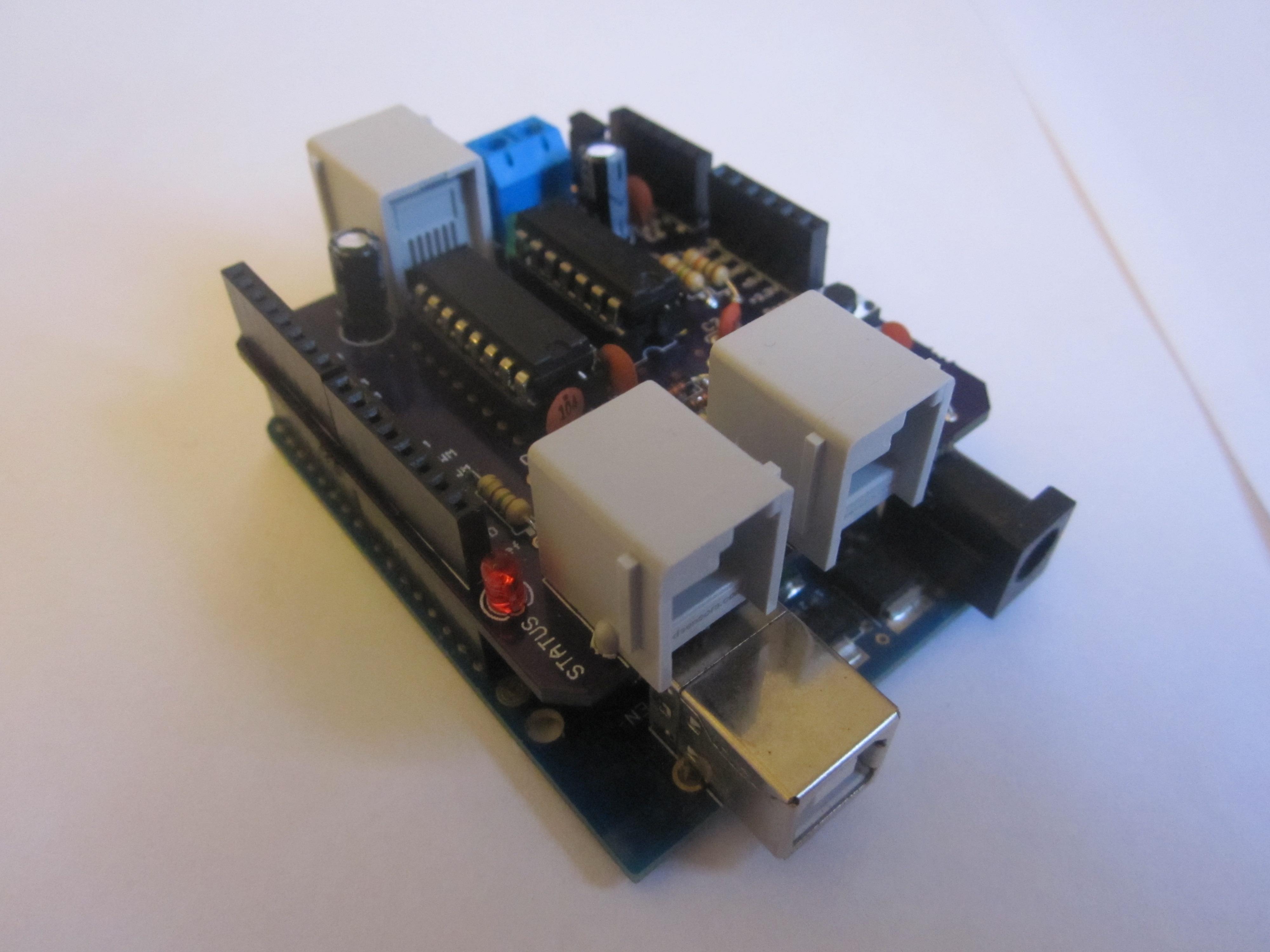 Tkj electronics nxt shield version