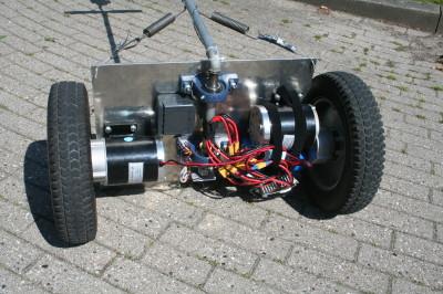 Robot bottom side