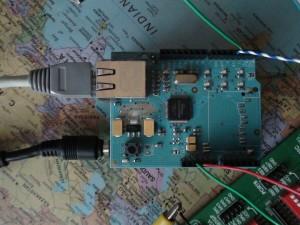 Ethernet TV - Arduino