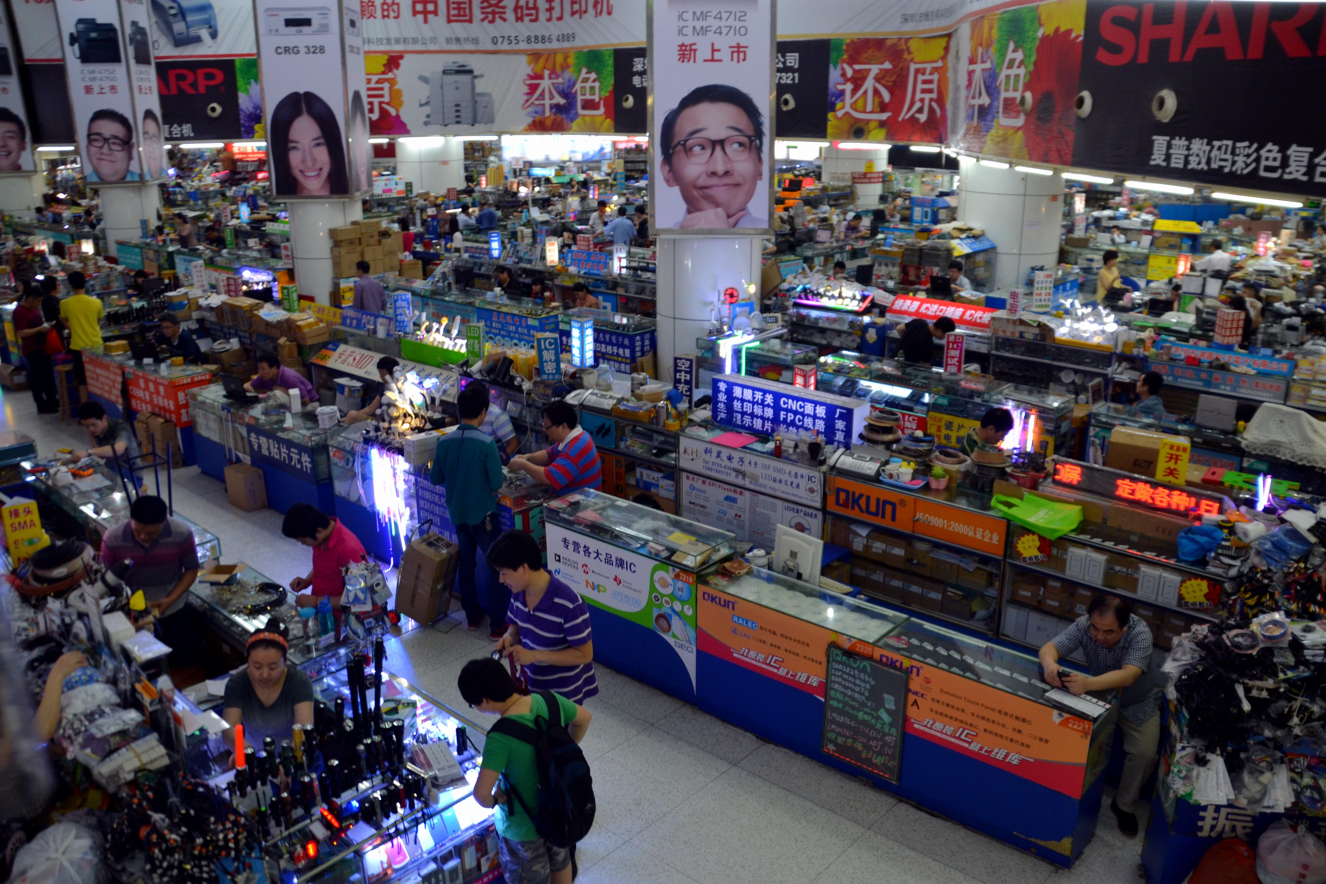 Electronics markets