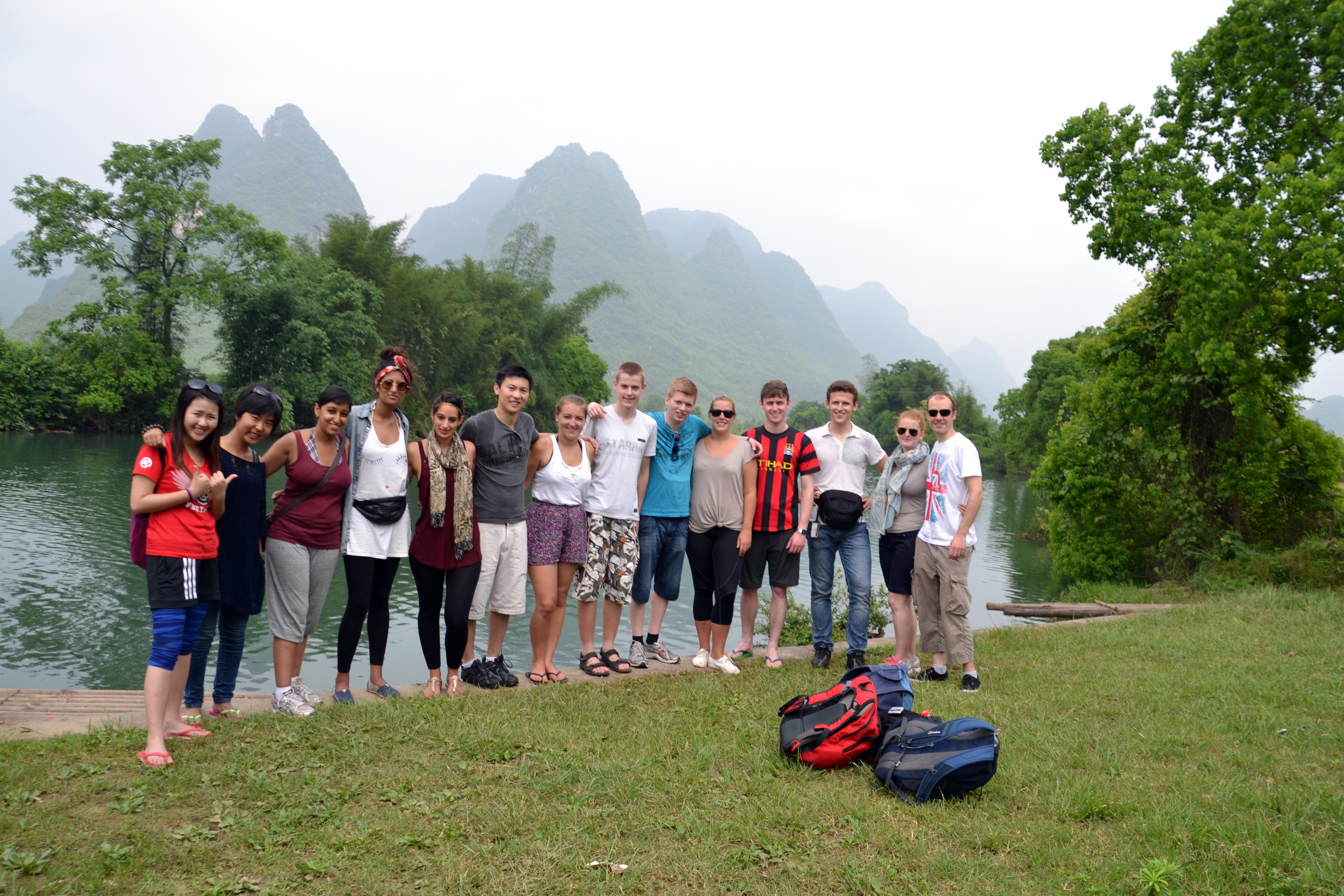 The nature in Yangshuo