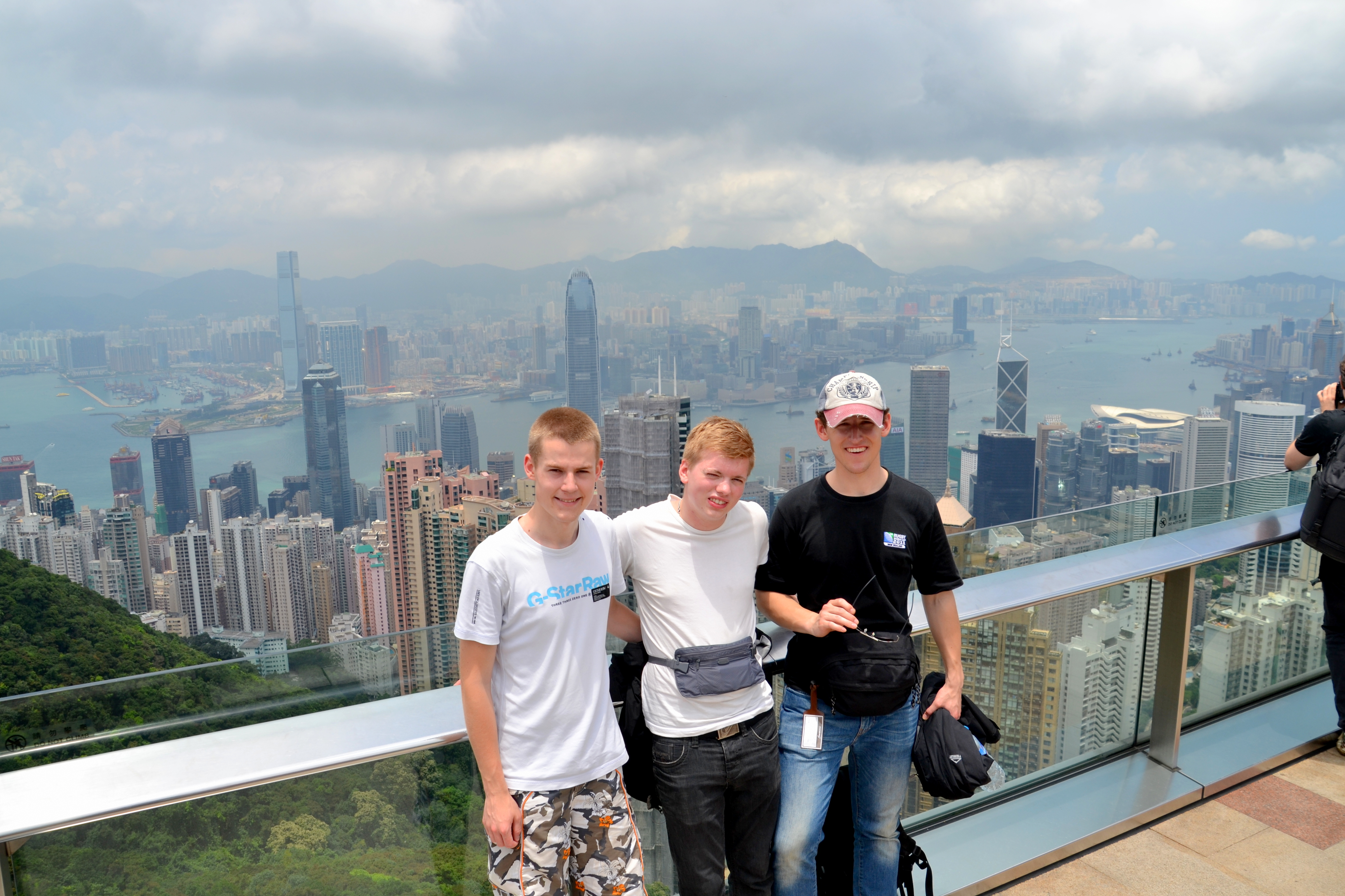 Sky terrace in Hong Kong