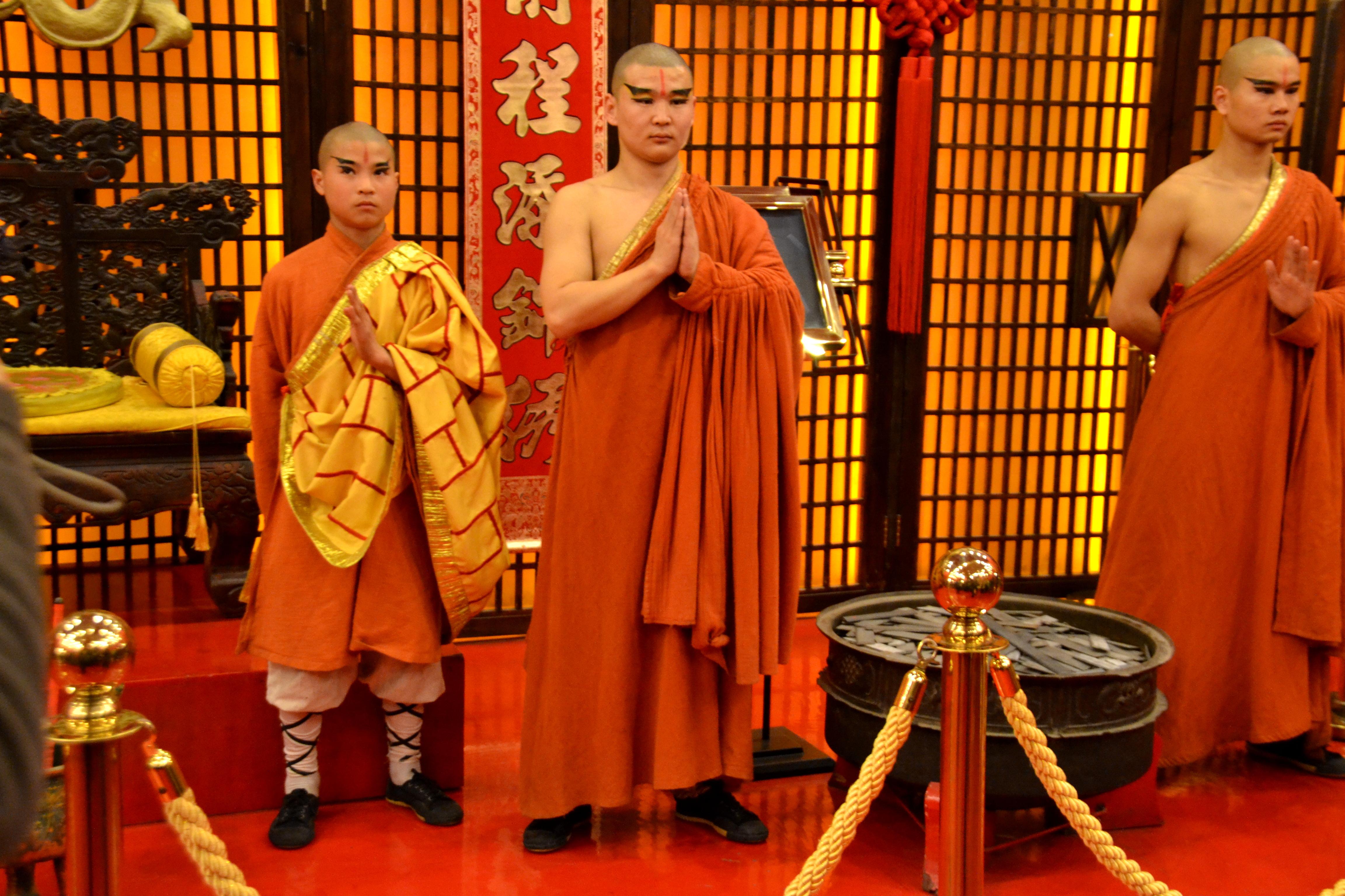 Chinese munks