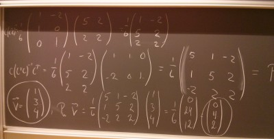 Linear Algebra at AAU