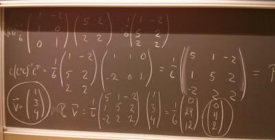 Linear Algebra at AAU